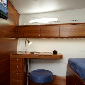 Foto: X-Yachts A/S                                         The Cabin New Line Chart Table Lamp